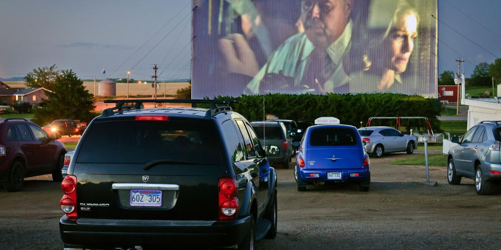 Winner Drive-In movie theater