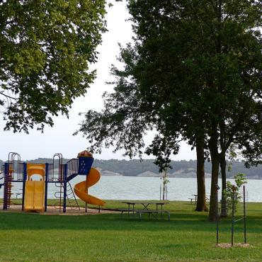Playground at Lewis and Clark Recreation Area