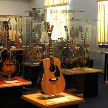 Guitars at the National Music Museum