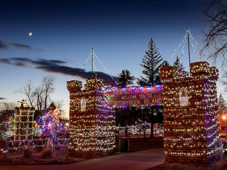 Christmas Nights of Light, Storybook Island, Rapid City