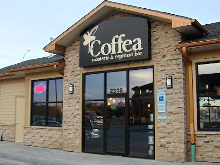Coffea Roasterie & Espresso Bar, Louise Avenue, Sioux Falls