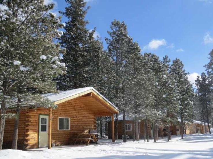Cabins available year round