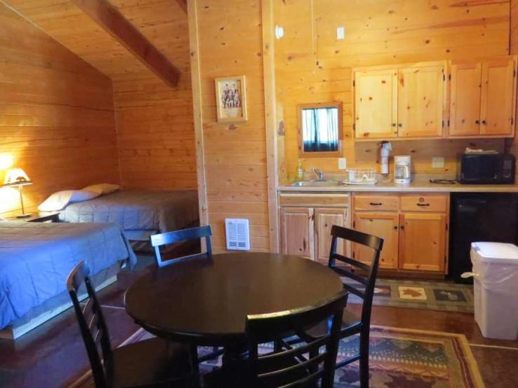 Cabins with kitchenette