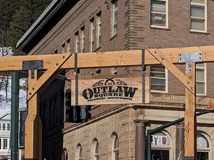 Outlaw Square, Historic Deadwood