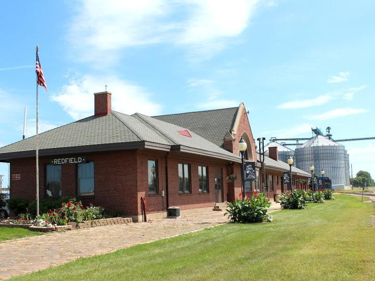 Chicago and NorthWestern Historic Railroad Depot, Redfield