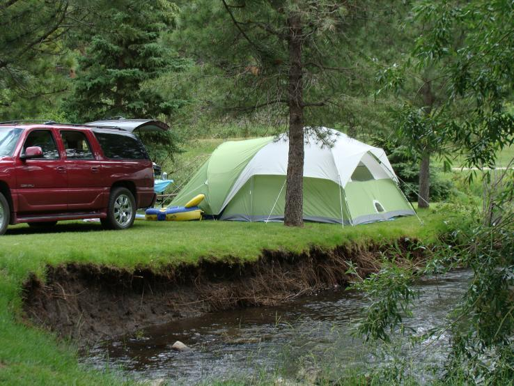 Crooked Creek Resort Tenting