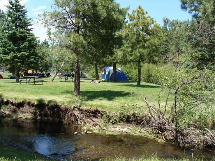 Crooked Creek Tenting