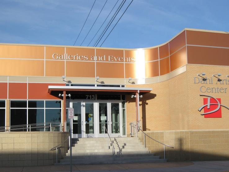 Dahl Arts Center Main Entrance