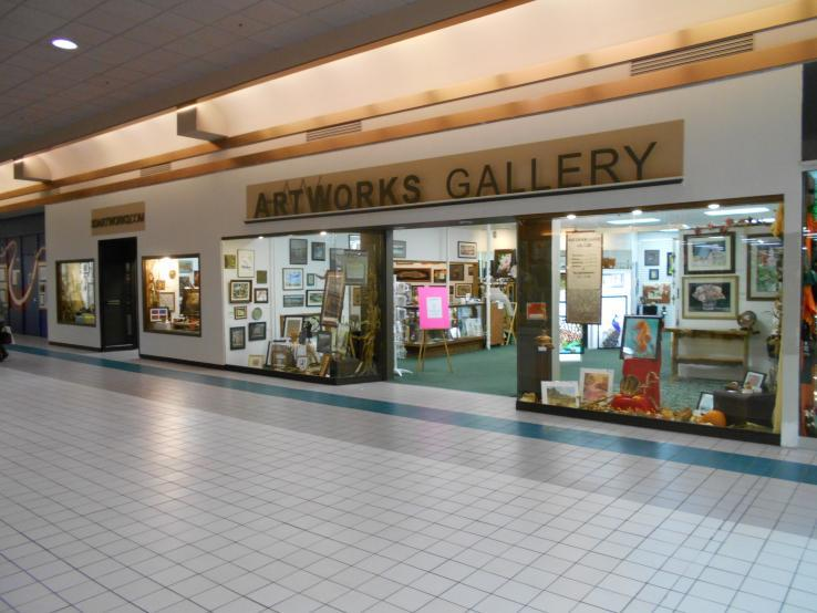 Our home in the Aberdeen Mall.