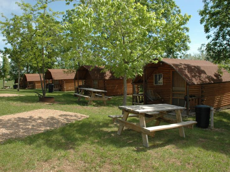 Rustic Camping Cabins