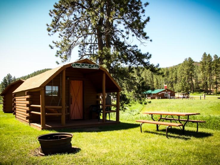 Whispering Pines Campground Travel South Dakota