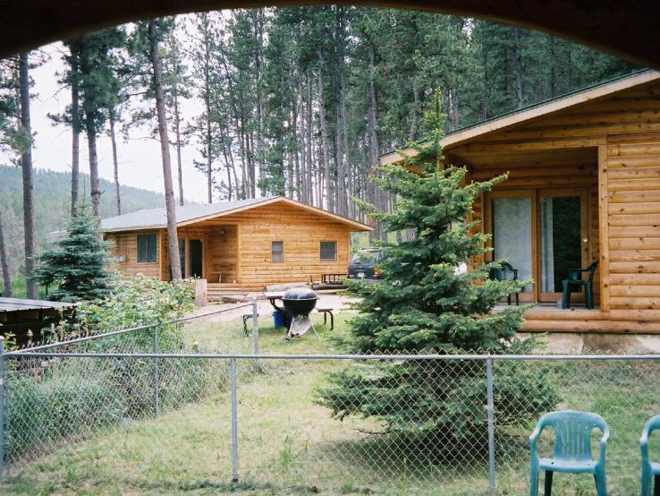 Cabins in the Black Hills