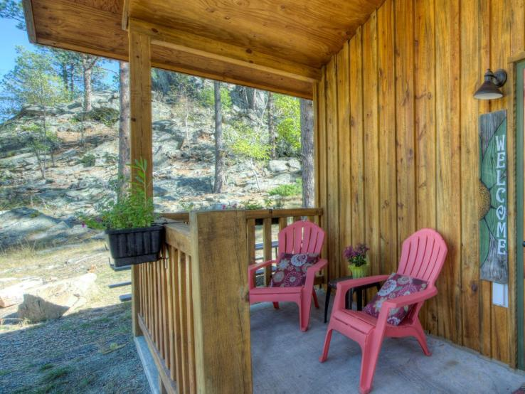 Yak Ridge Cabin Porches