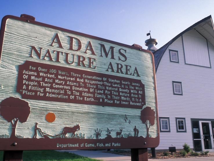 Adams Homestead and Nature Pres.