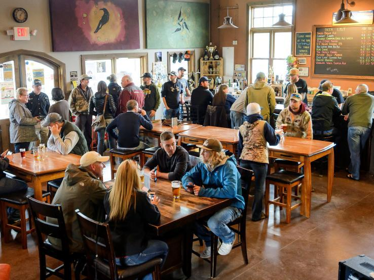 Crow Peak Brewing Co., Spearfish