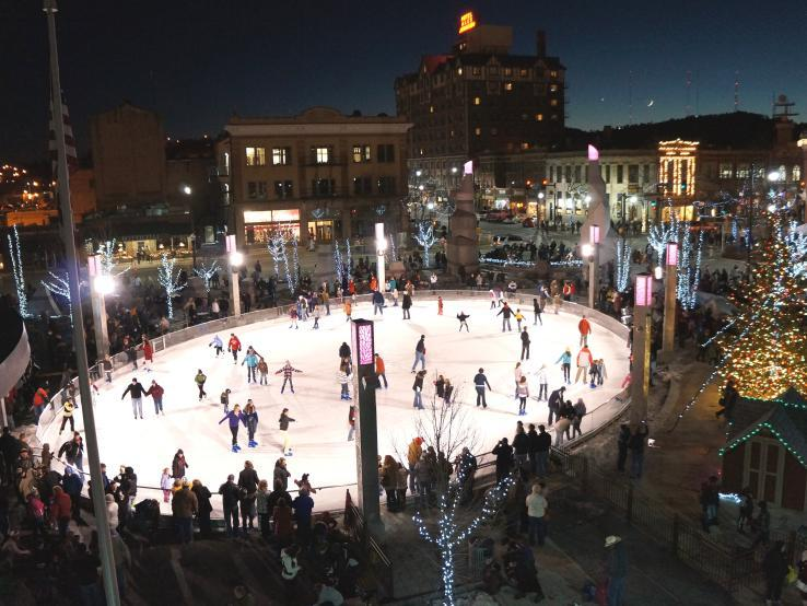 Main Street Square Ice Rink