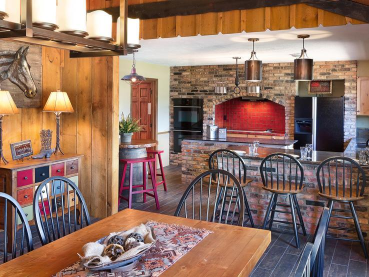 French Creek Ranch Kitchen