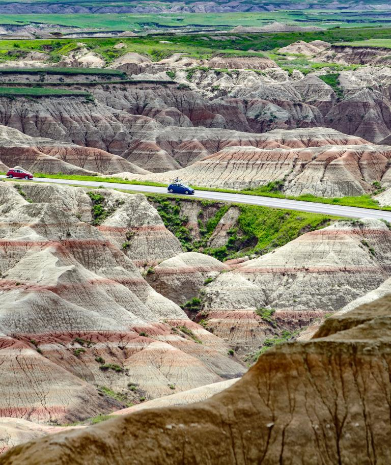Badlands Loop Road Scenic Byway South Dakota