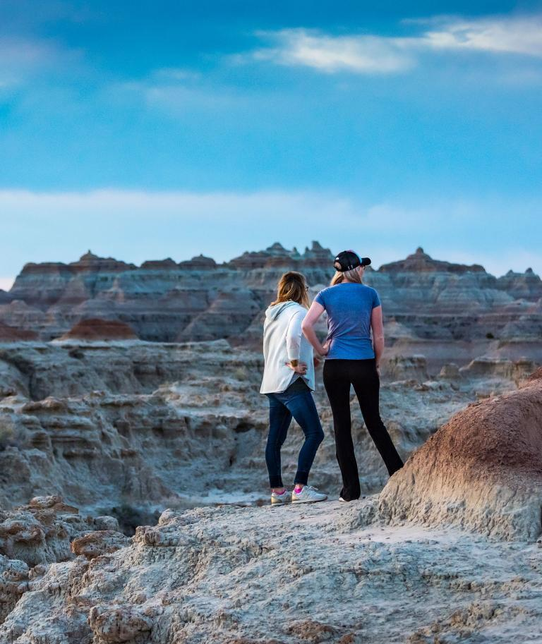 Hiking Badlands National Park South Dakota