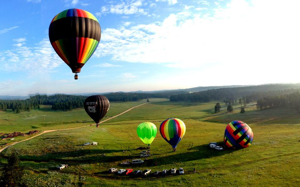 Balloon Rides in Custer State Park