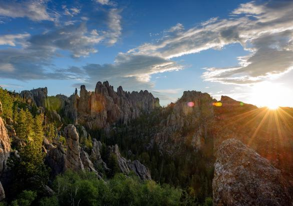 Cathedral Spires, Needles, Custer State Park