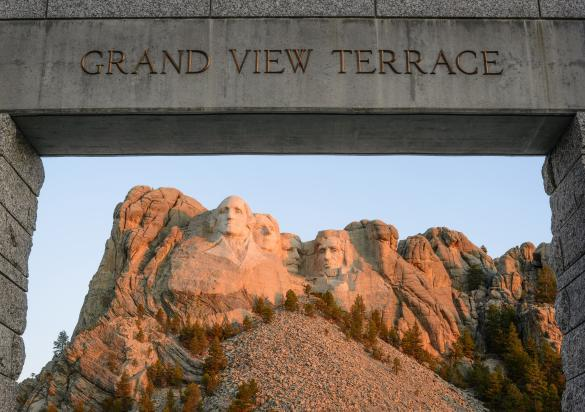 Grand View Terrace, Mount Rushmore