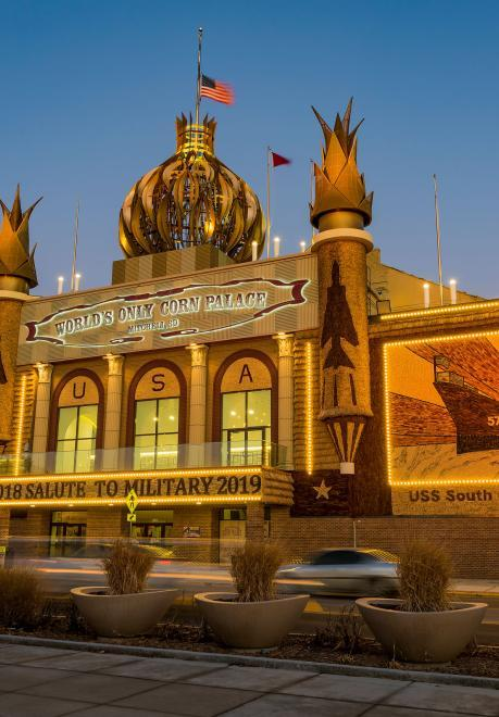 World's Only Corn Palace, Mitchell, South Dakota