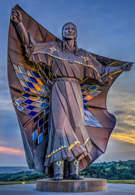 Dignity Statue Chamberlain South Dakota