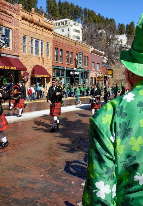 St. Patrick's Day Weekend, Deadwood